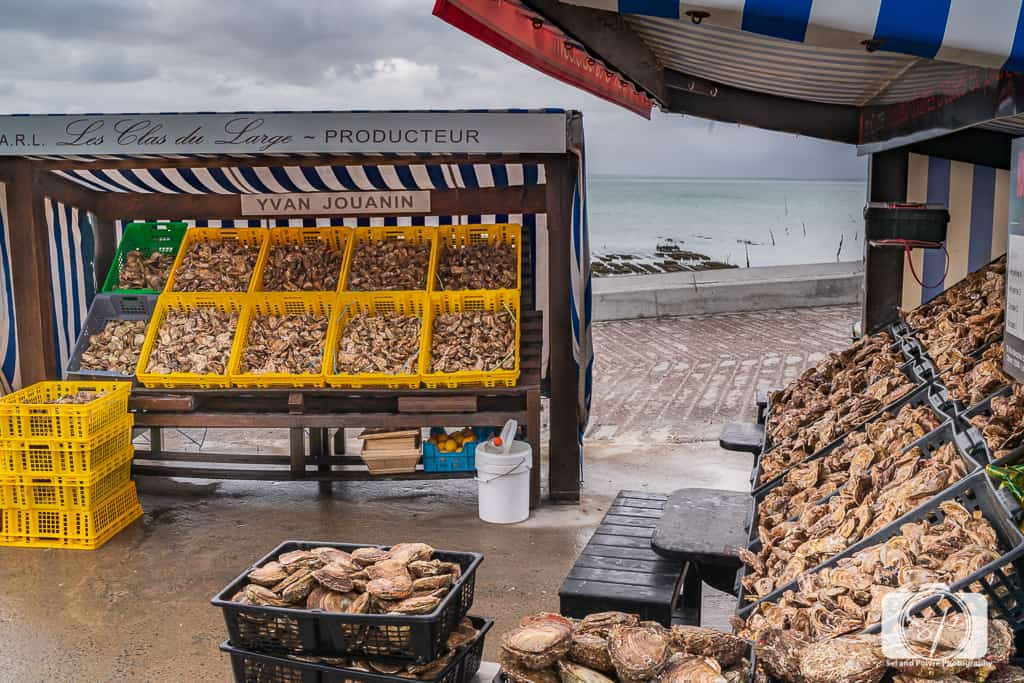 Oyster Farm in Cancale France