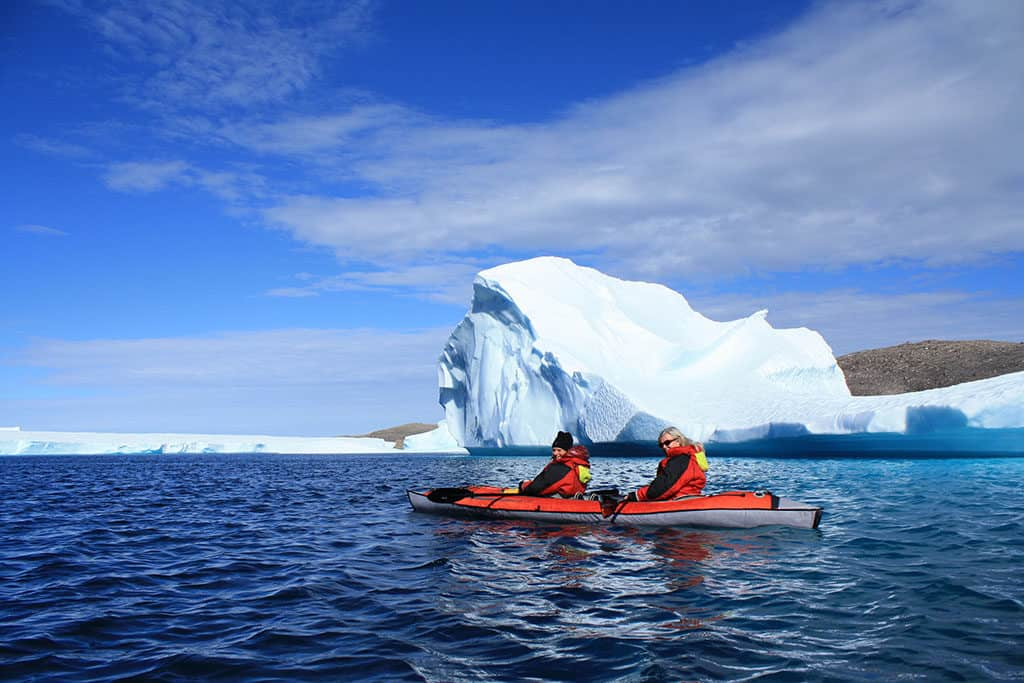 Traveler Tuesday - Mikaela of Voyageur Tripper - Nunavut - Kayaking Arctic Ocean 2