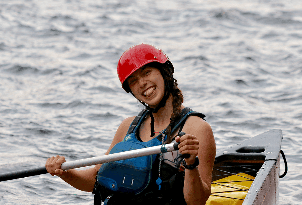 Traveler Tuesday - Mikaela of Voyageur Tripper Rafting 2