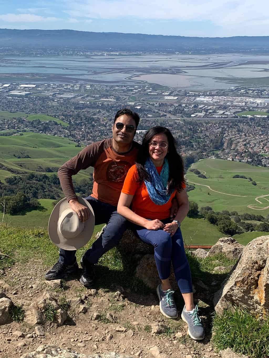 Traveler Tuesday – Jyoti of Story At Every Corner_On Mission Peak in Fremont, California.