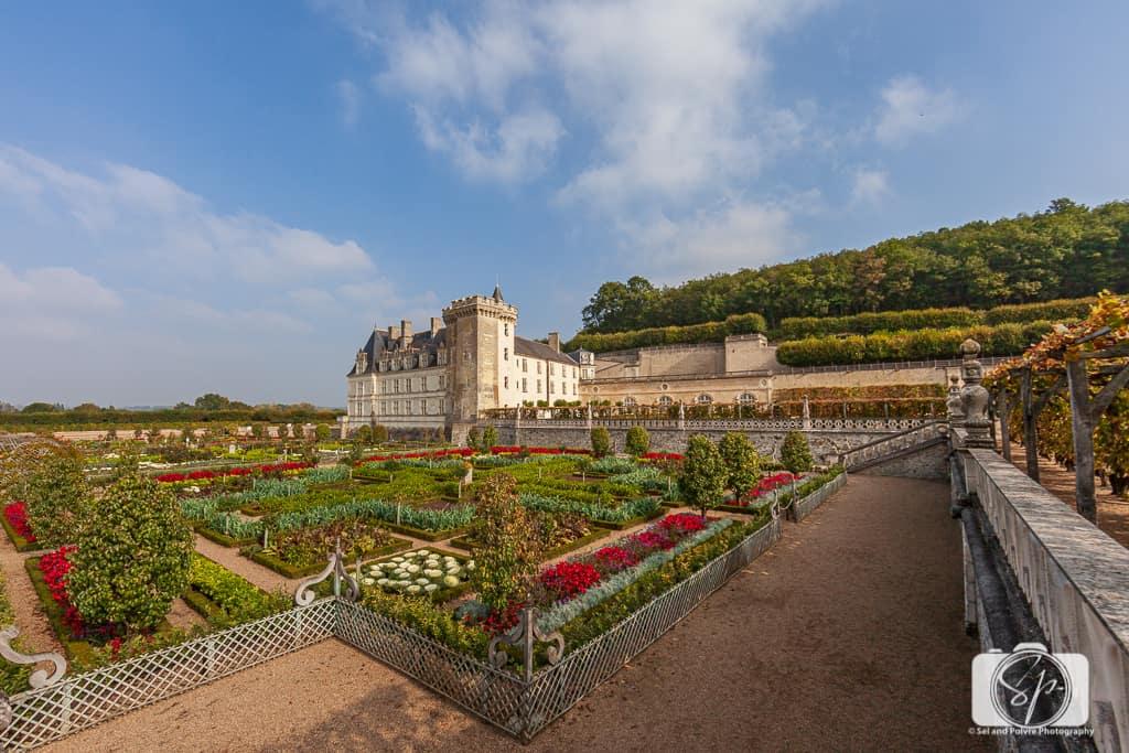 Chateau Villandry France Gardens 3