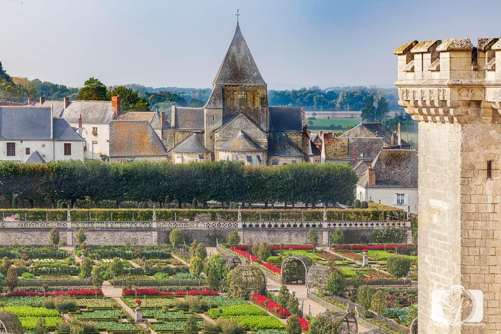 Chateau Villandry France Gardens 8