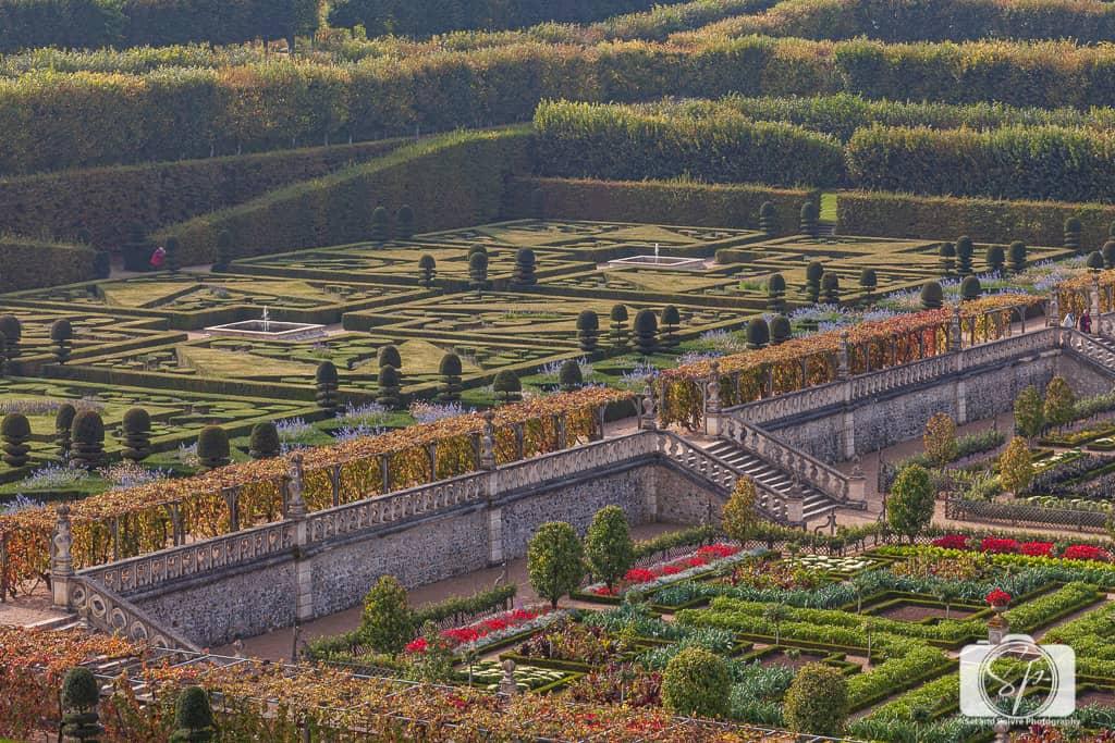 Chateau Villandry France Gardens 9