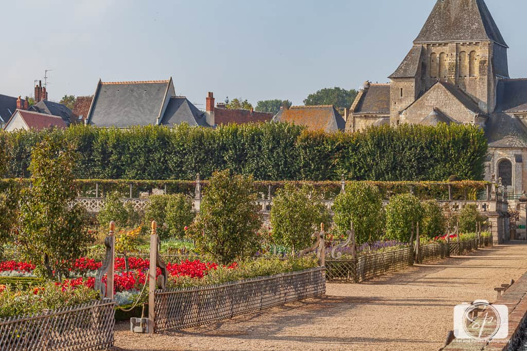 Chateau Villandry France Gardens