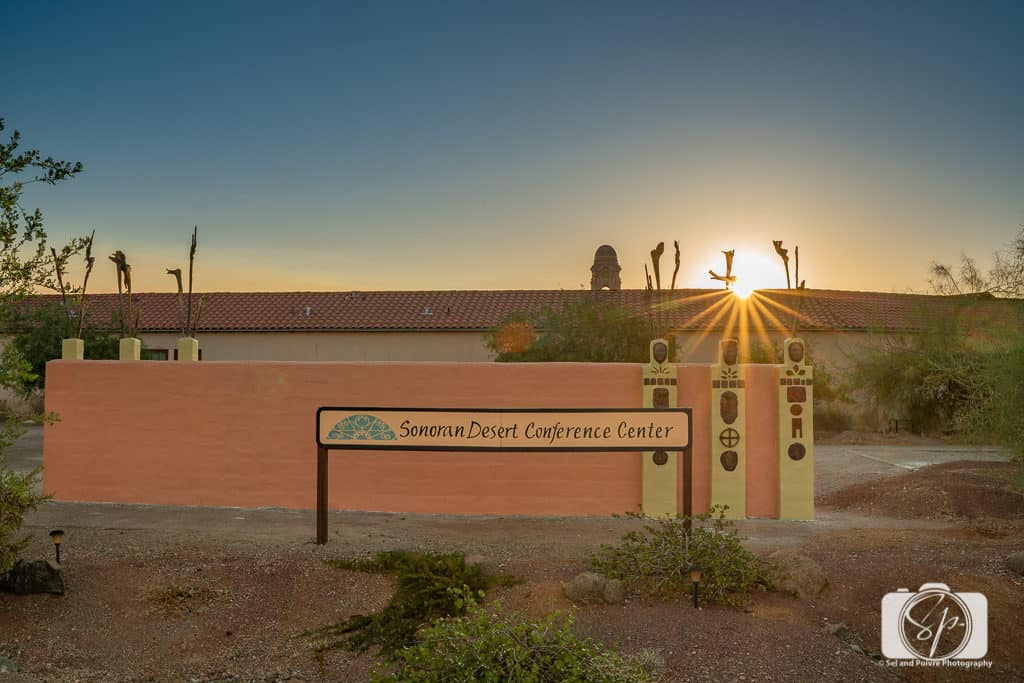 Entrance to the Sonoran Desert Inn in Ajo Arizona
