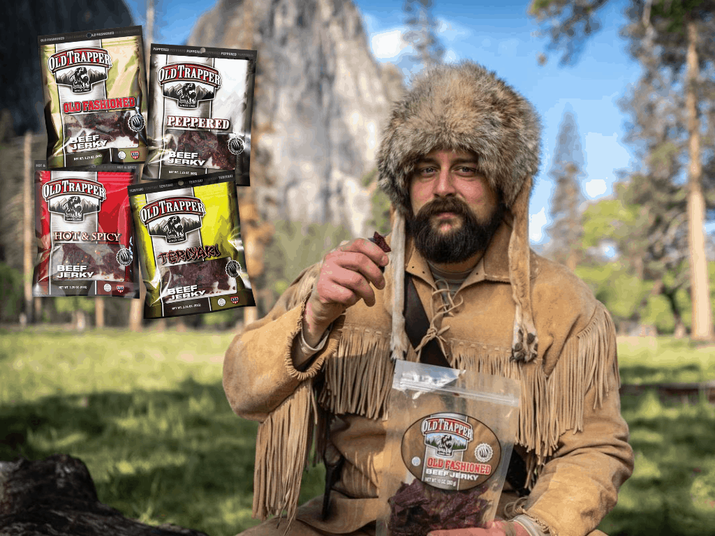 J'adore Low Carb Foods Old Trapper Beef Jerky