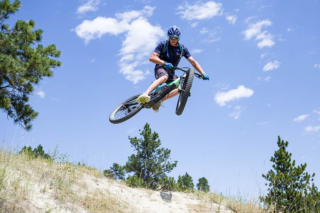 Mountain biking Acton Recreation Area near Billings Montana_Photo credit Emily Sierra