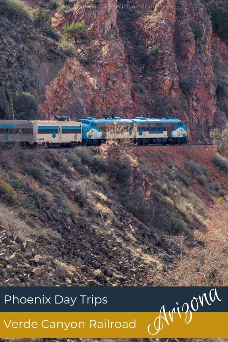 Phoenix Day Trip - Verde Canyon Railroad Arizona USA