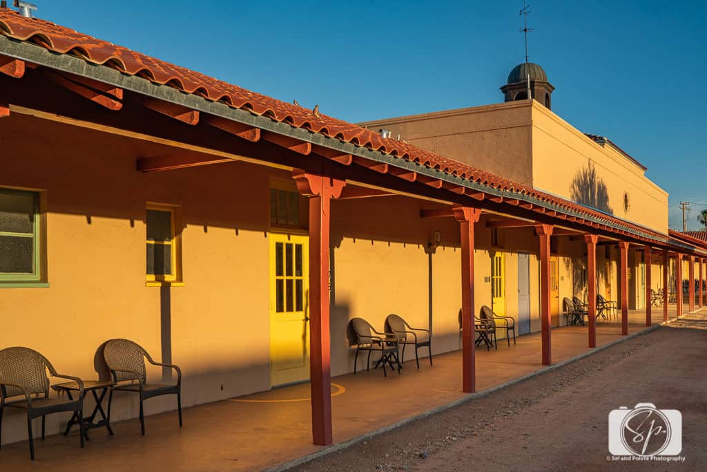 Rooms at the Sonoran Desert Inn in Ajo Arizona