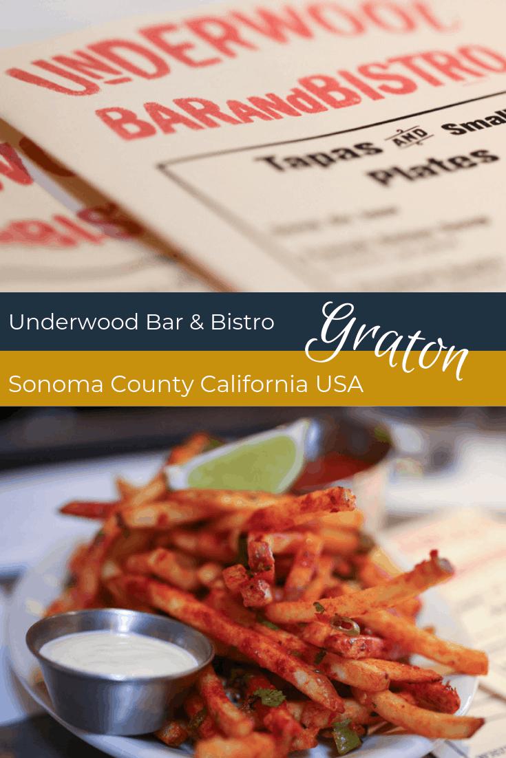 Underwood Bar & Bistro - Graton Sonoma County California USA