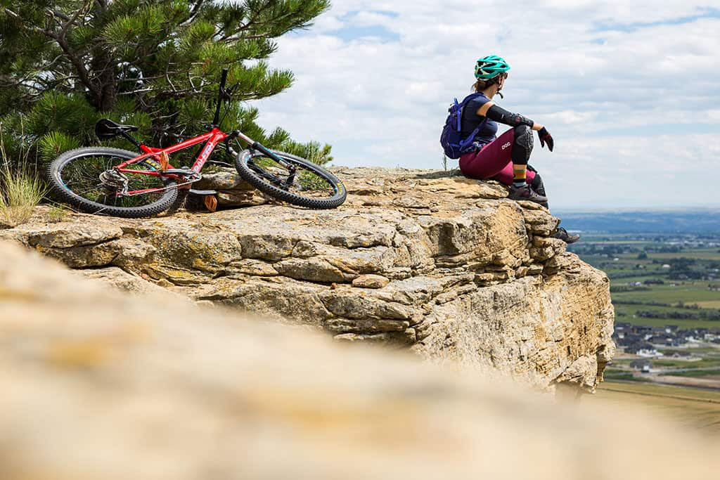 mountain Biking at Phipps Park in BIllings Montana_Photo credit Emily Sierra