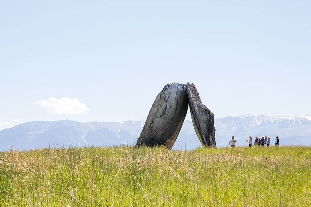 Tippet Rise Art Center outside of Billings Montana