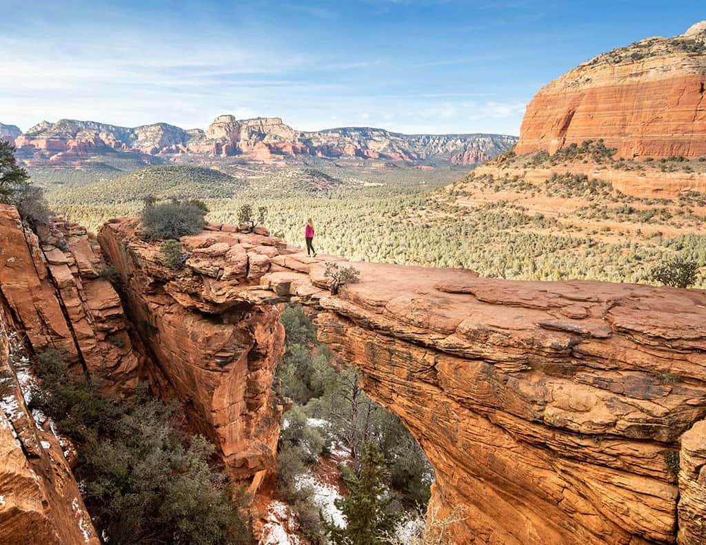 The 50 Best Day Trips from Phoenix - Devil's Bridge Trail Arizona
