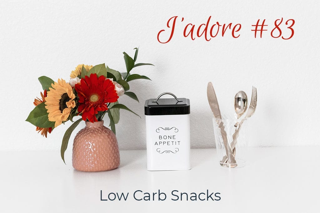 Jadore 83 - Low Carb Snacks hero