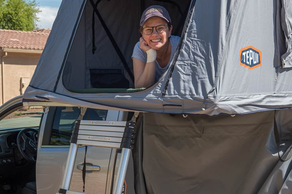 Successful First Test of Tepui Rooftop Tent