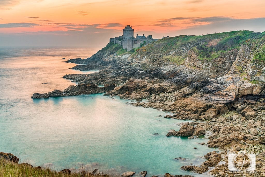 Sunrise at Fort La Latte Brittany France