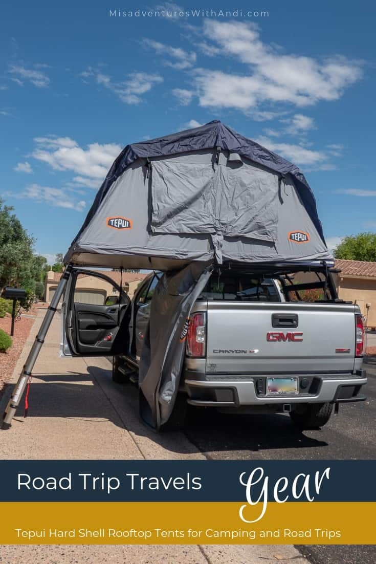Tepui Hard Shell Rooftop Tents for Camping and Road Trips