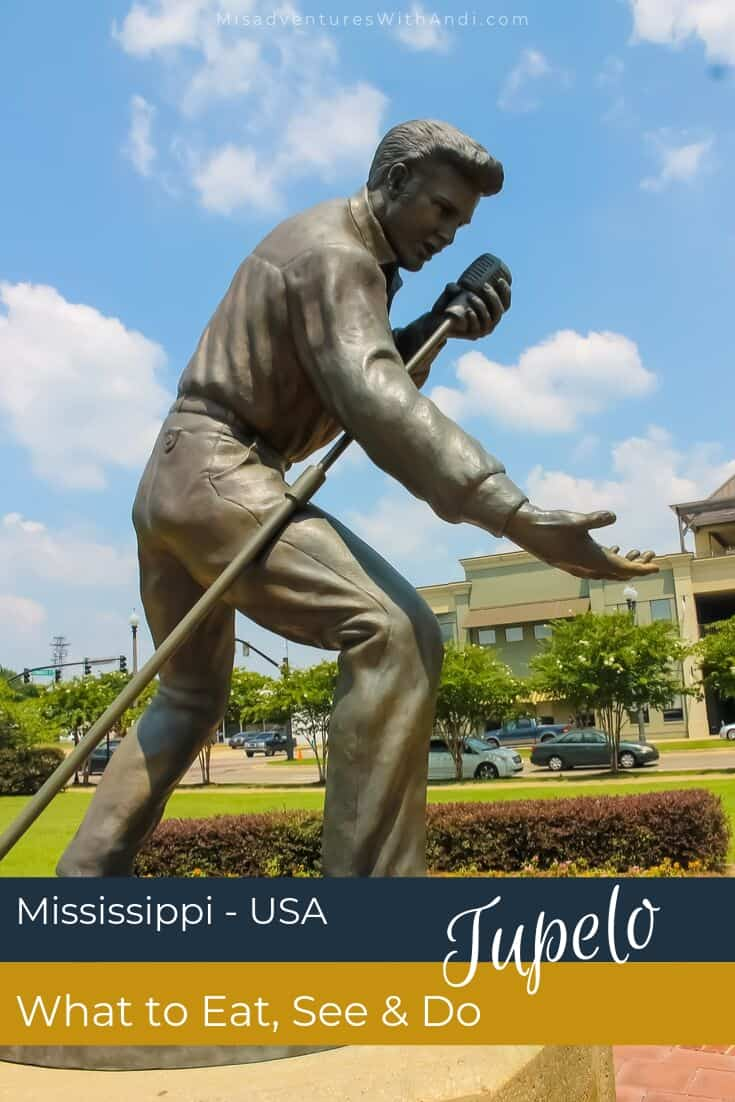 Things to eat see and do in Tupelo Mississippi USA