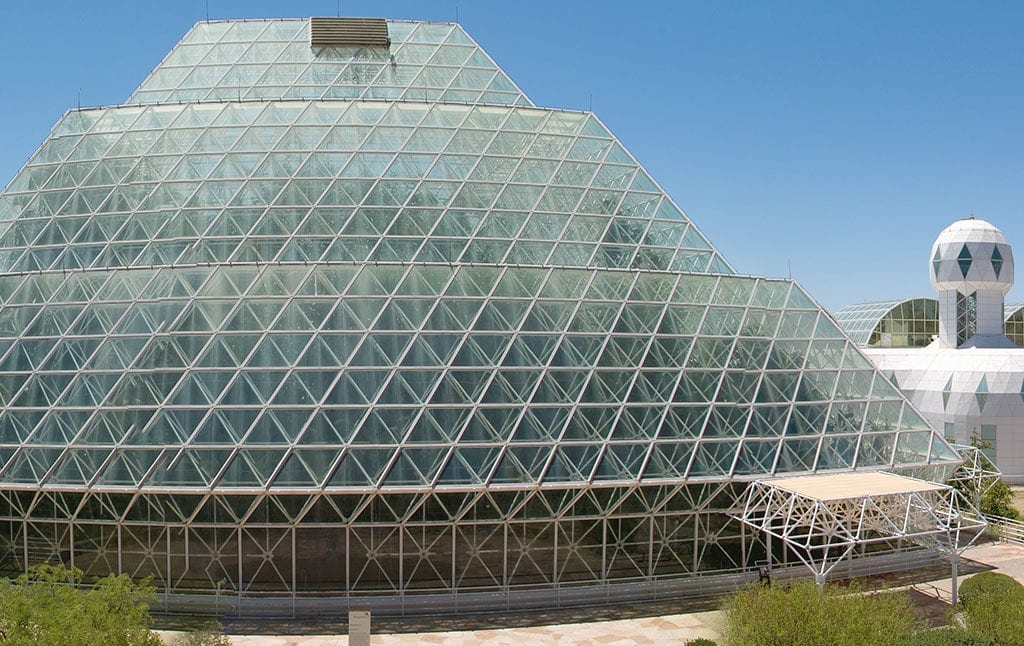 The 50 Best Day Trips from Phoenix - Biosphere 2 Arizona