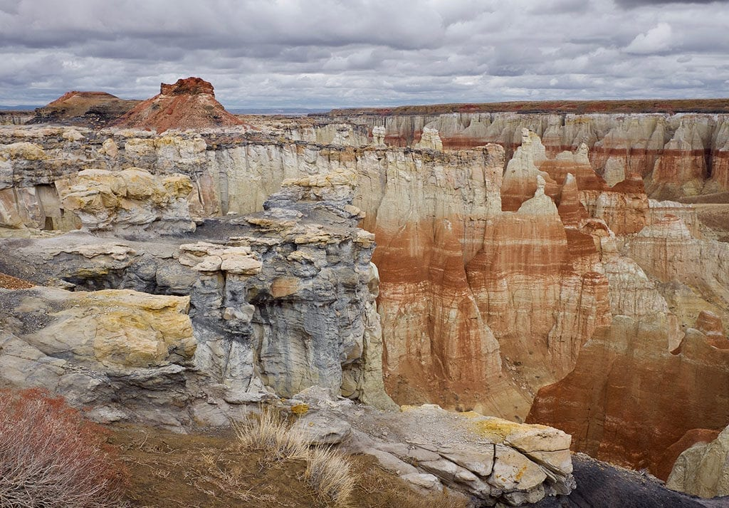 The 50 Best Day Trips from Phoenix - Coal Mine Canyon Arizona
