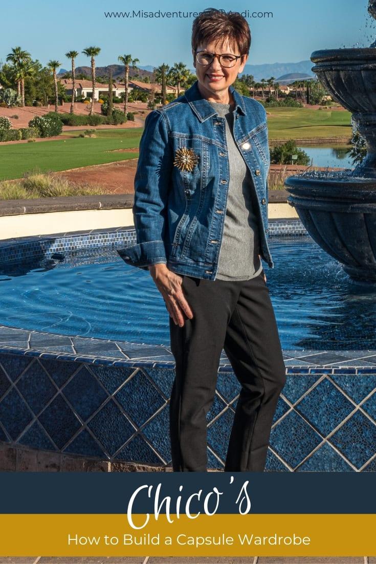 J'adore Chico's 10-Pieces/20-Outfits Wardrobe Extravaganza - Capsule Wardrobe