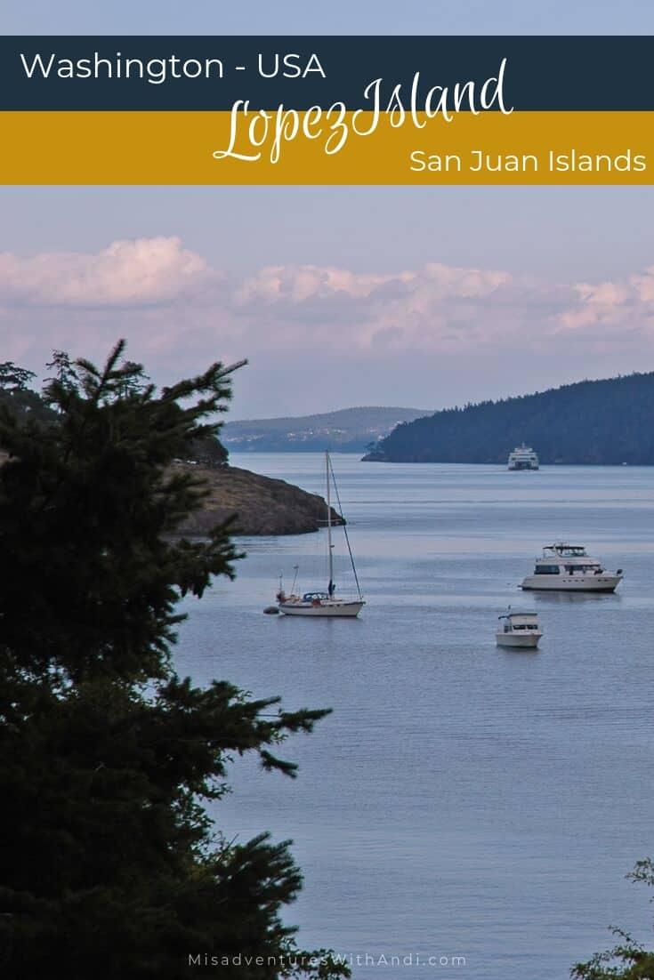 Lopez Island - San Juan Islands Washington USA
