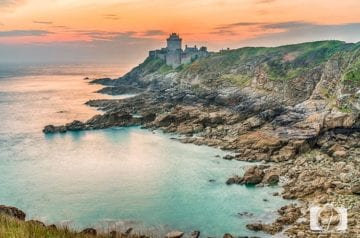 Sunrise at Fort La Latte Brittany France hero