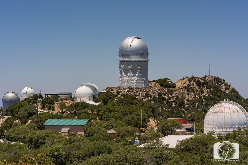 The 50 Best Day Trips from Phoenix - View of several observatories on Kitt Peak National in ArizonaObservatory