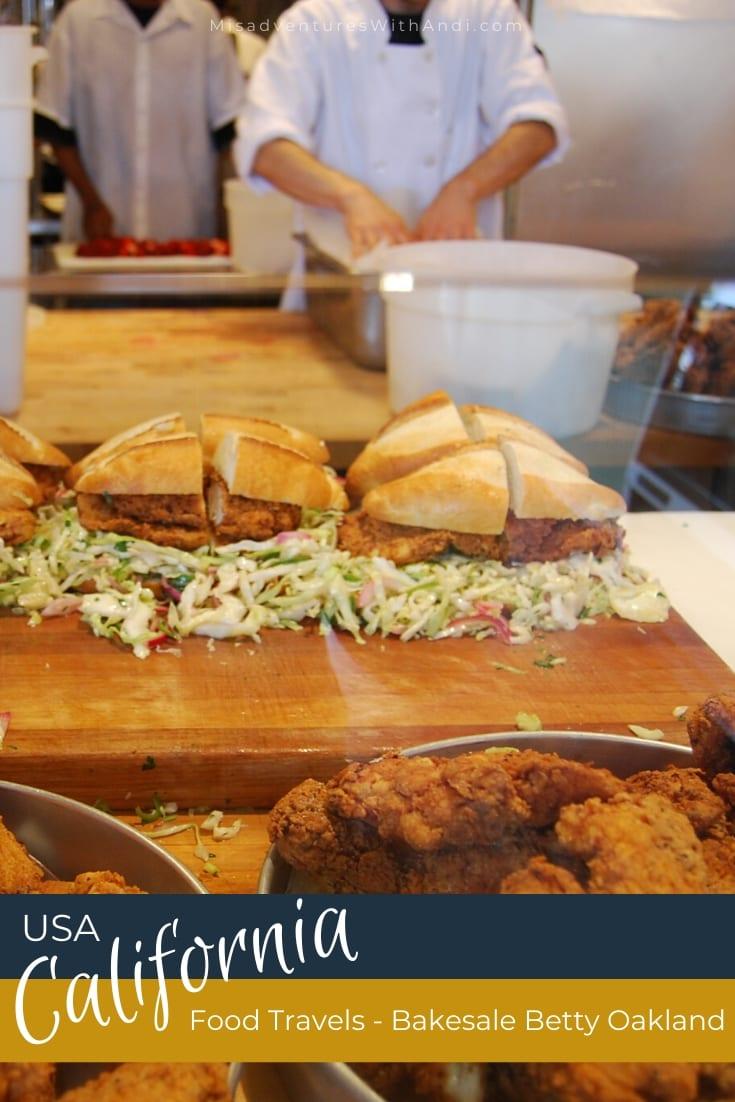 Food Travels Bakesale Betty Oakland California USA