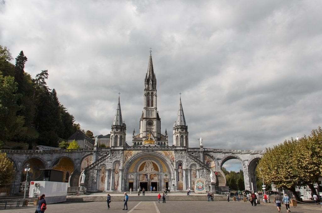 Feast of Assumption Lourdes France