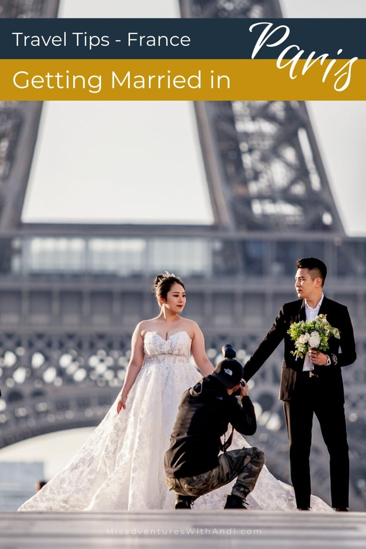 GettingMarried in Paris France