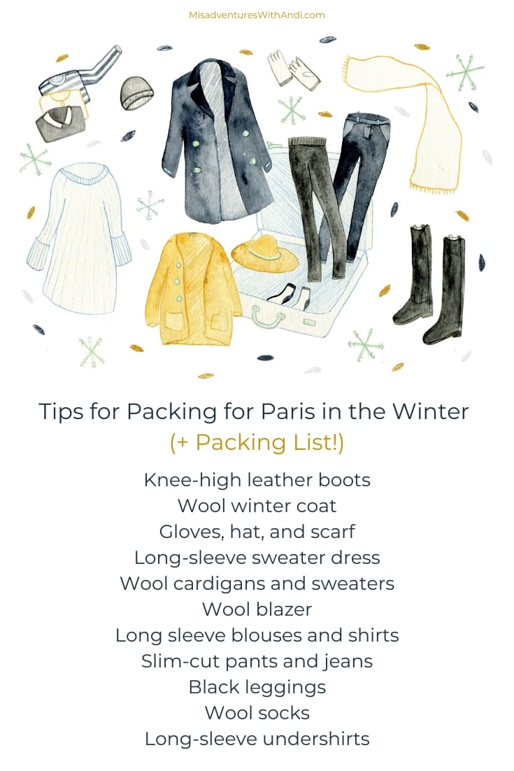 Travel Tips France_Tips for Packing for Paris in the Winter