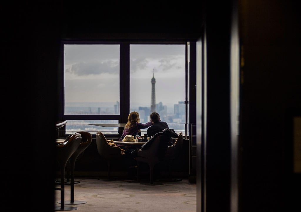 Paris City of Romance_Couple Eating Together