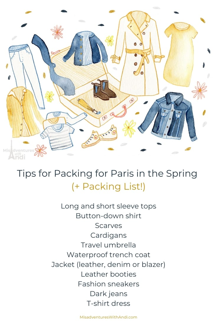 Tips for Packing for Paris in the Spring