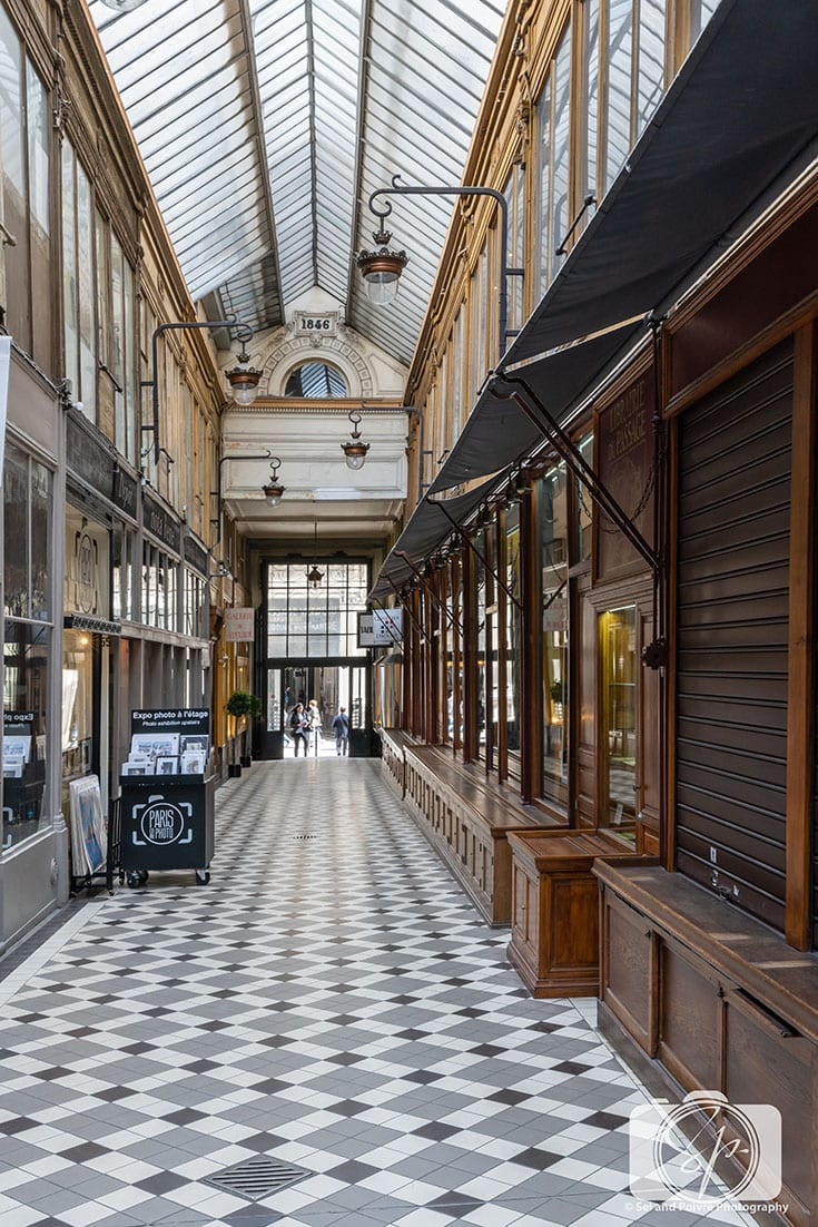 Passage Jouffroy Covered Passage in Paris France