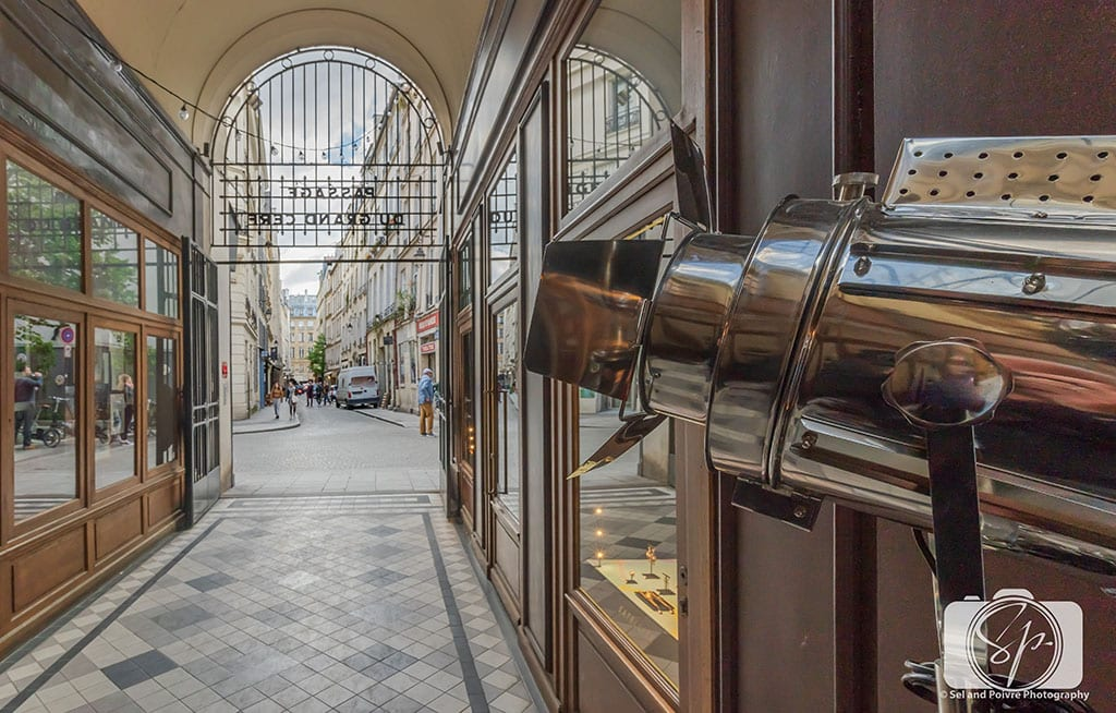 Passage du Grand Cerf Covered Passage in Paris France
