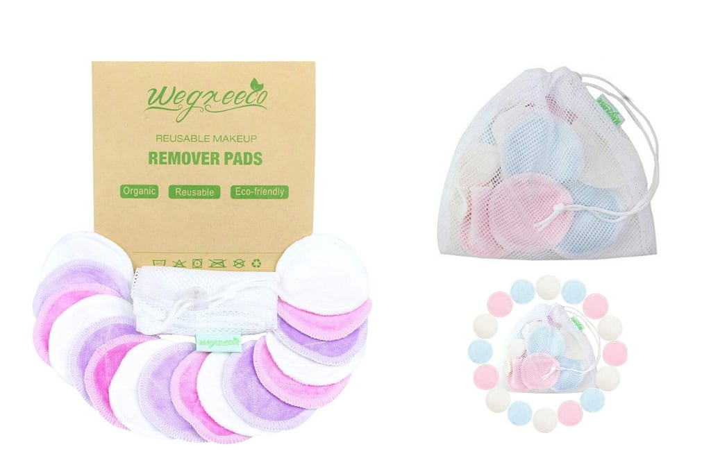 Wegreeco Reusable Bamboo Makeup Remover Pads_Eco-Friendly Beauty Products for the Face_notext