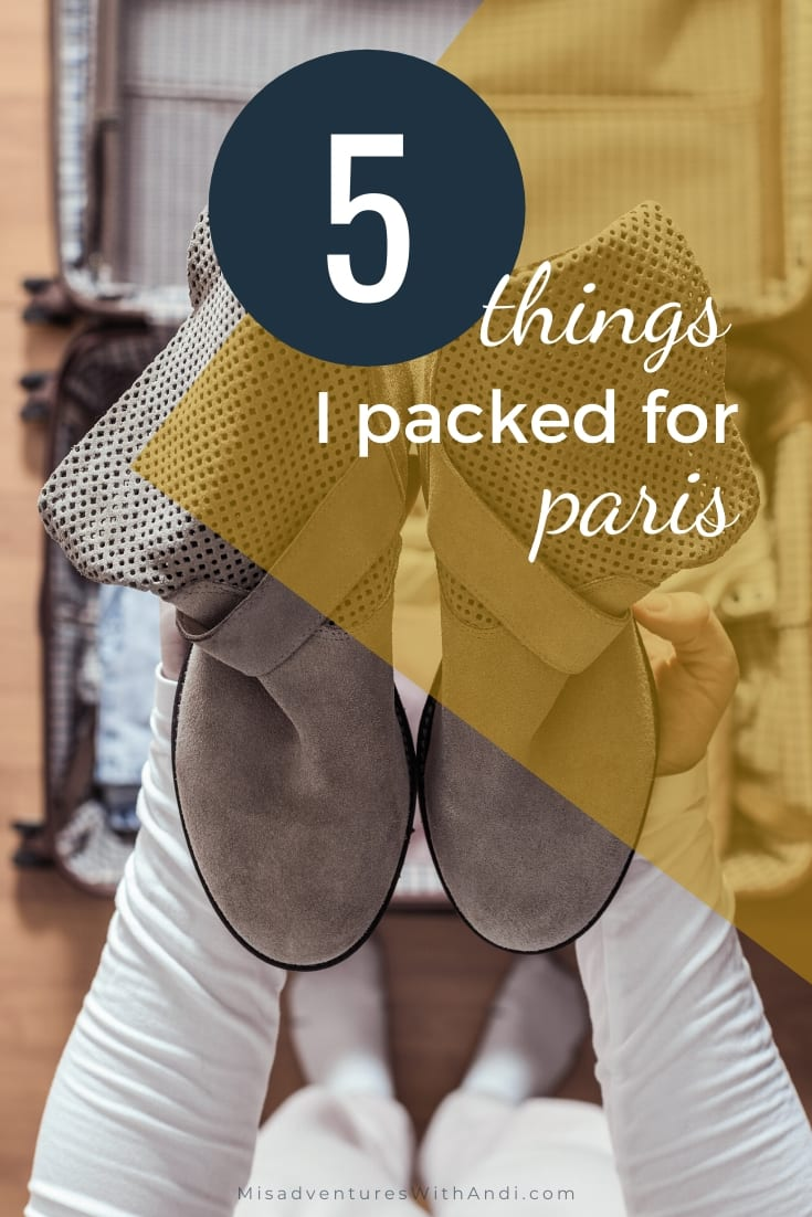 5 Things I Packed for Paris