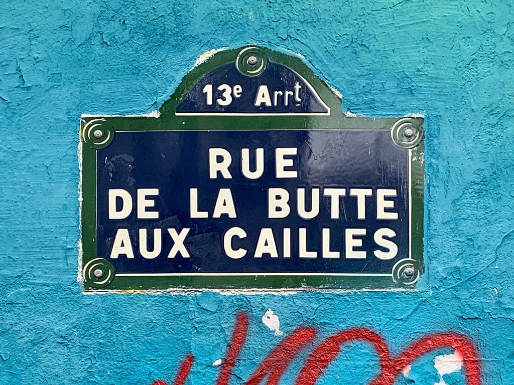 Butte aux Cailles Paris 13th Arrondissement