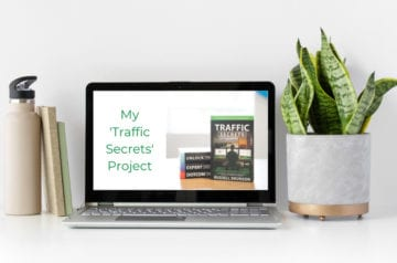 My Traffic Secrets Project on Misadventures with Andi hero