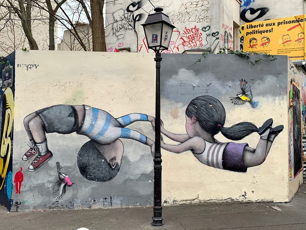 Street Art in the 13th Arrondissement
