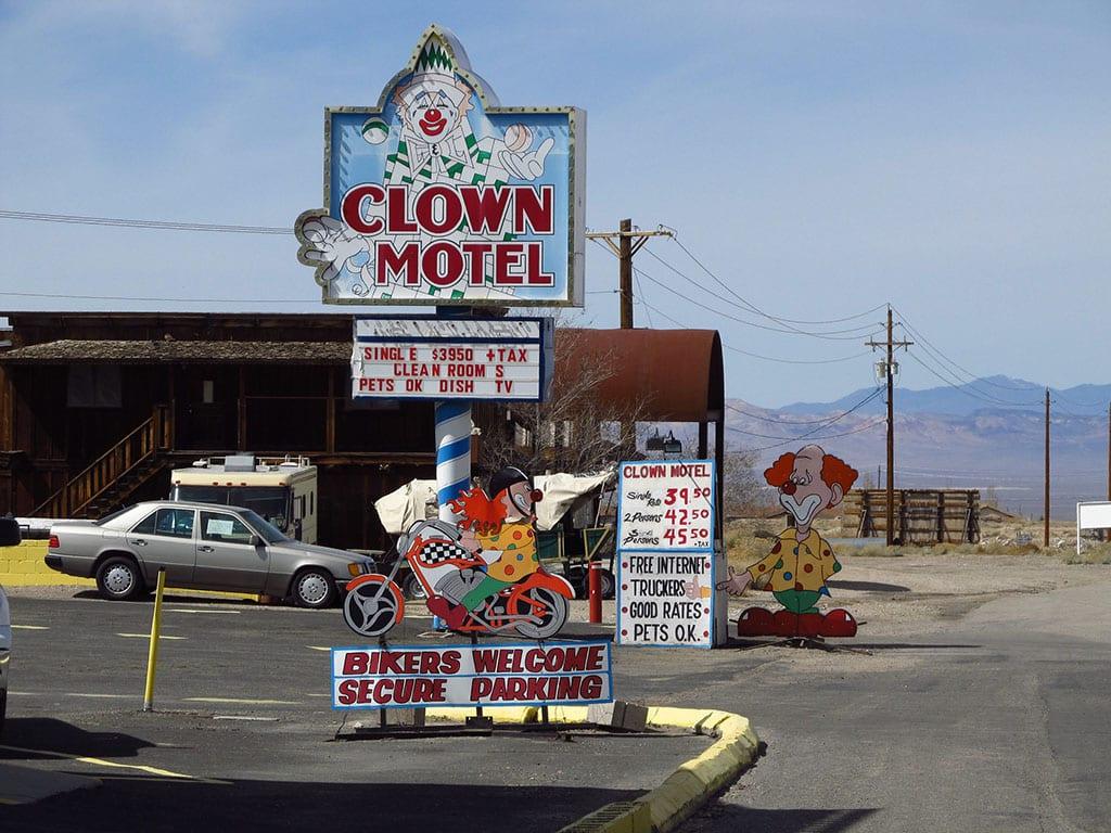 Clown Motel in Tonopah Nevada USA
