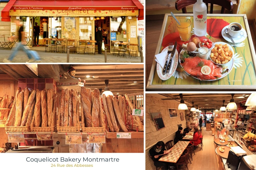 Coquelicot Bakery Montmartre