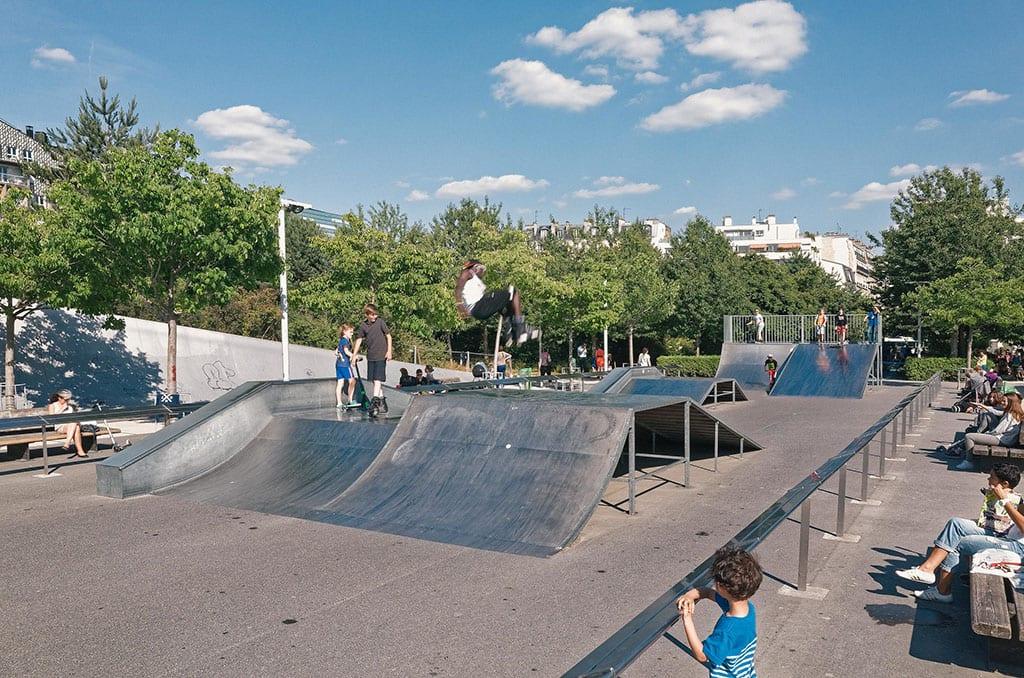 Paris 17th Arrondissement Skate Park