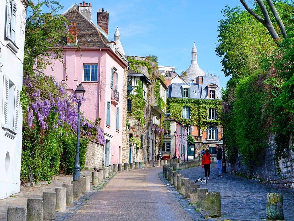 Paris 18th Arrondissement_rue de l'abreuvoir