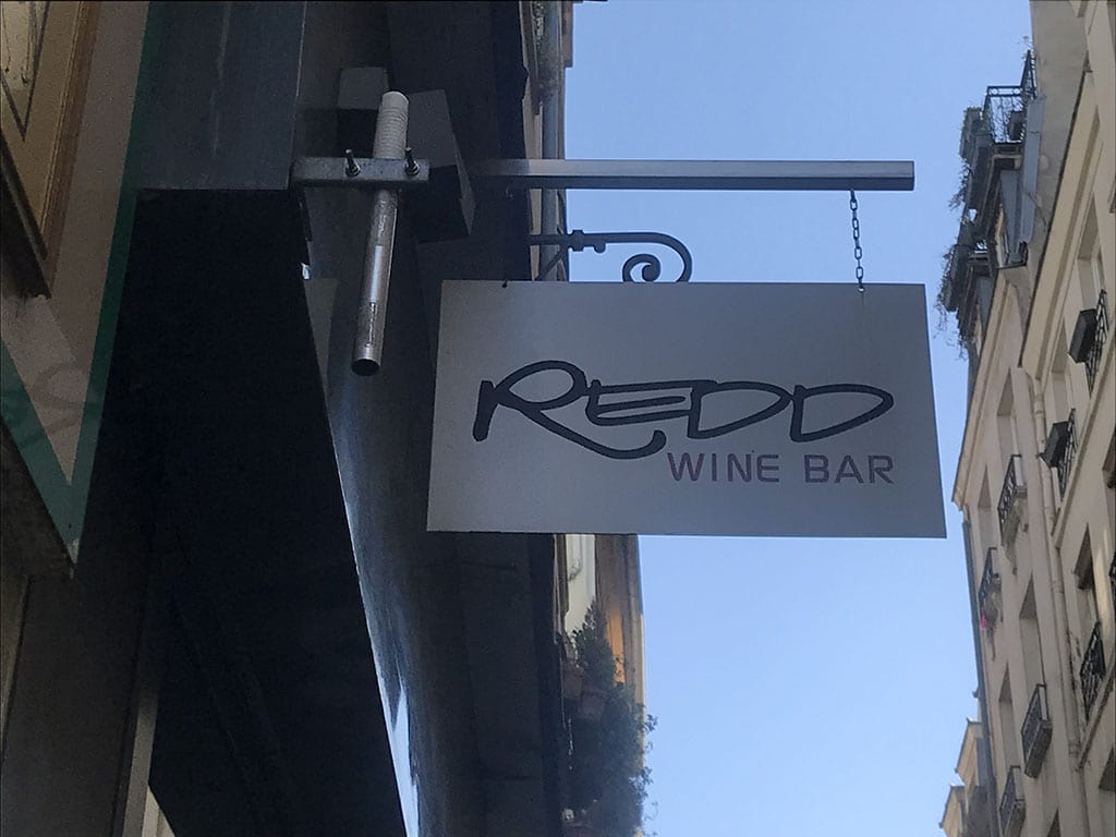 Paris 2nd Arrondissement_Redd wine bar