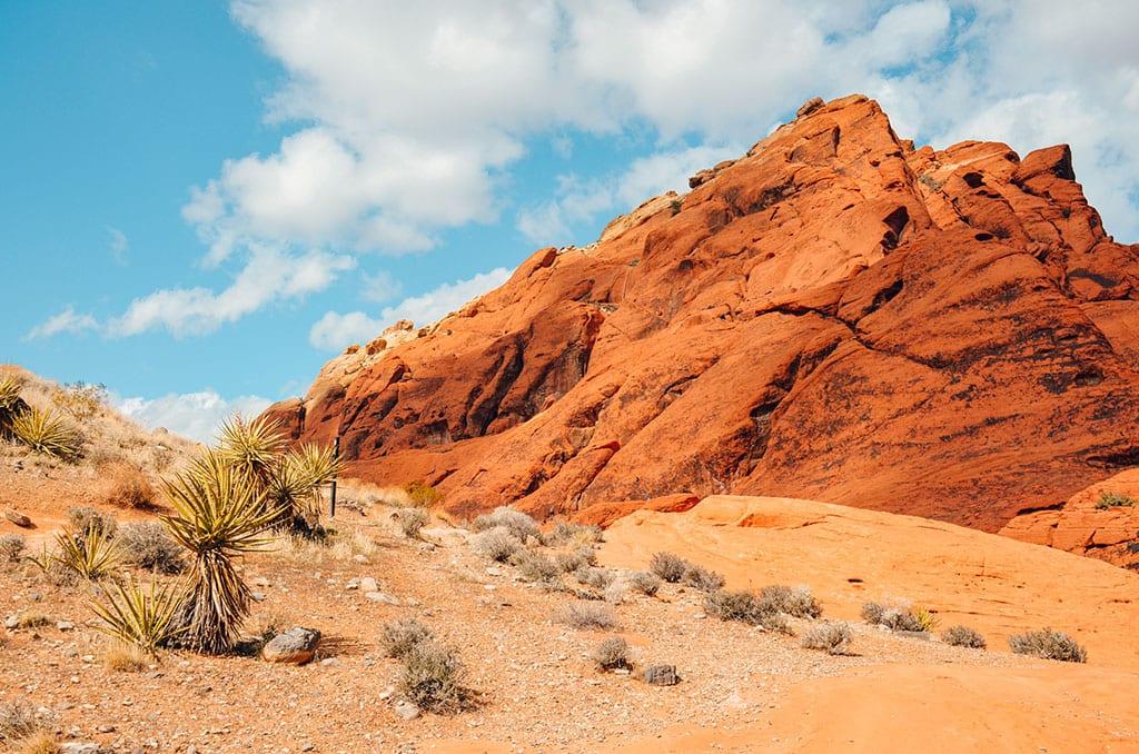 Red Rock Canyon near Las Vegas Nevada USA