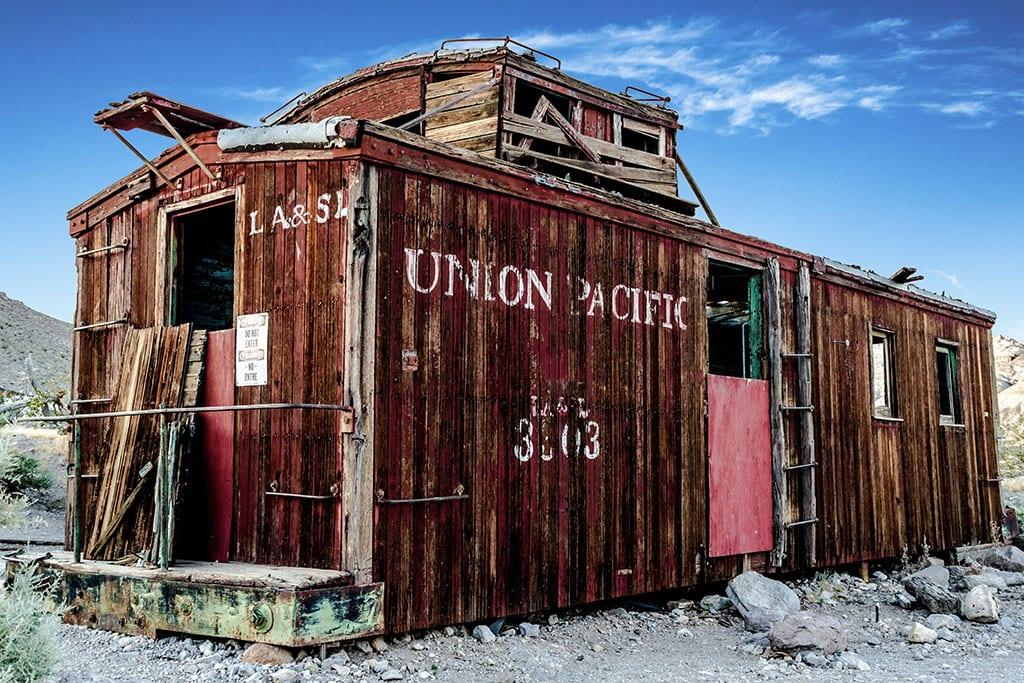 Rhyolite Ghost Town Nevada USA
