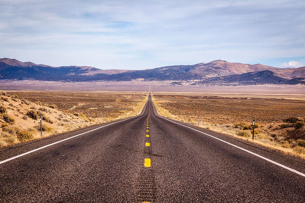 U.S. Route 50 Nevada The Loneliest Road USA