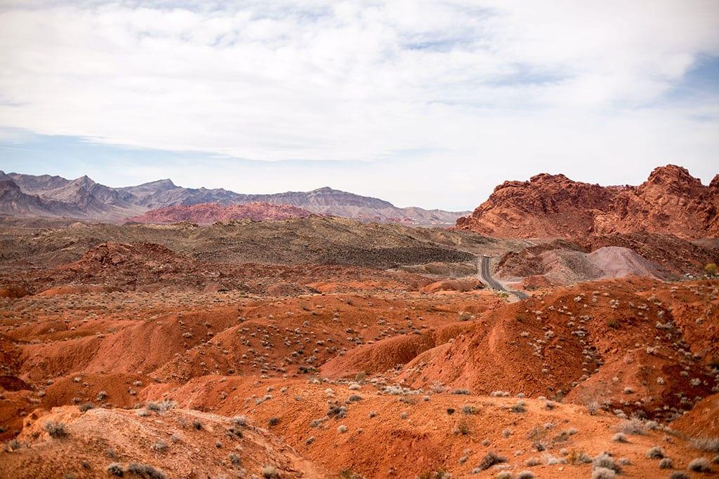 Valley of Fire State Park near Las Vegas Nevada USA